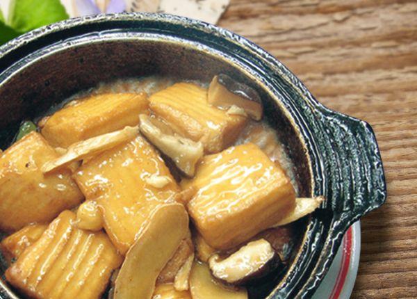 三杯豆腐(蛋素)