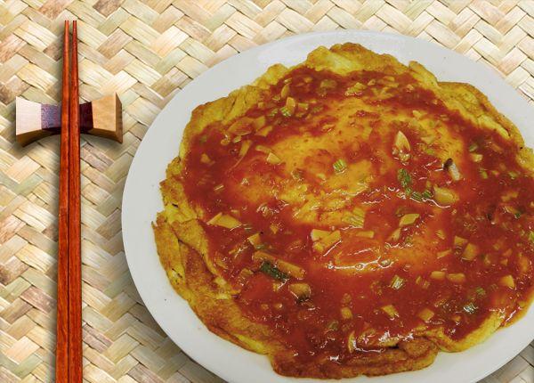 鍋渣豆腐 (蛋素)